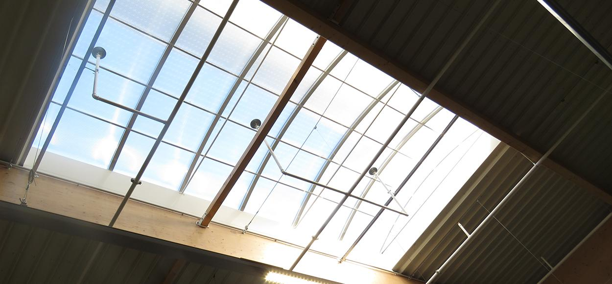 Rooflights and skylights Bluetek Decathlon Marseille